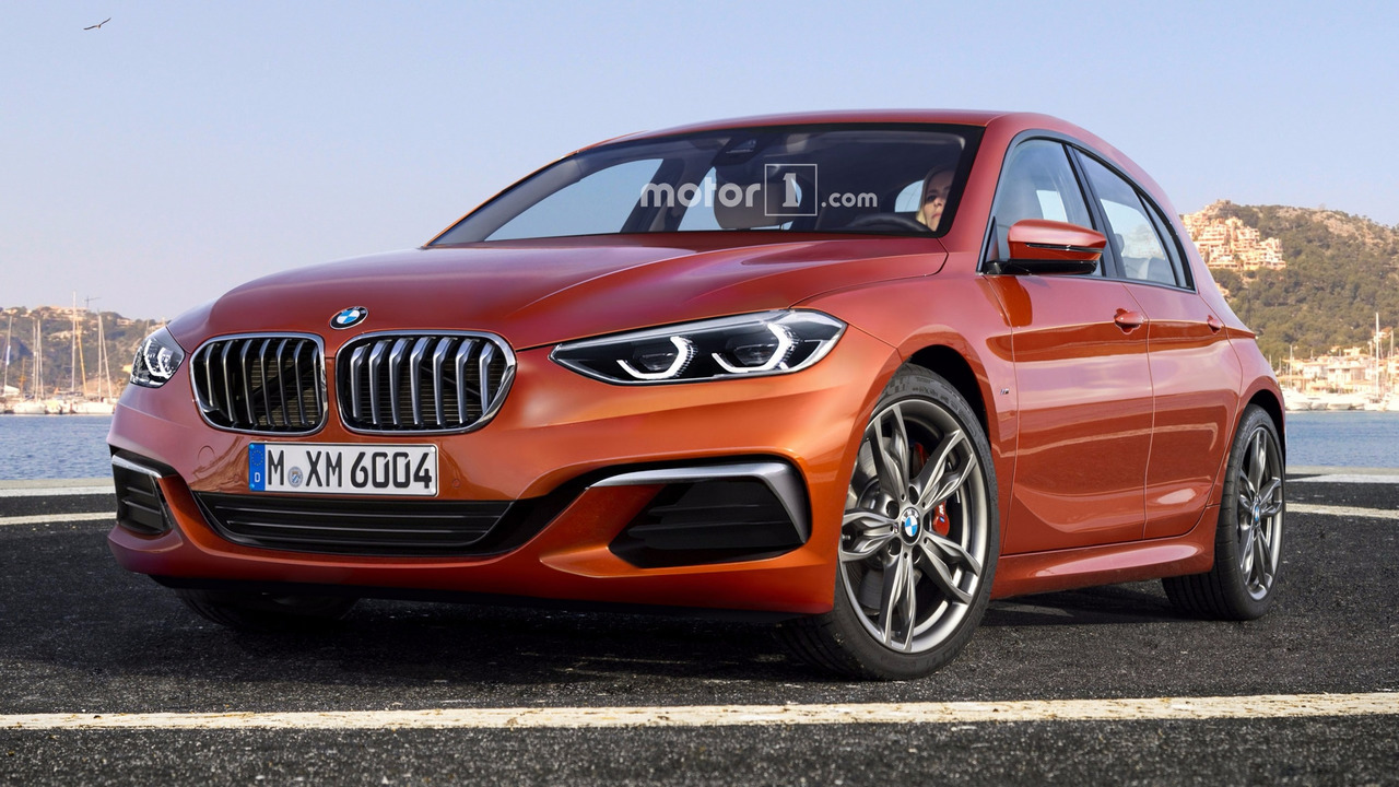 2019 bmw 1 series render sees into the hatch 39 s fwd future. Black Bedroom Furniture Sets. Home Design Ideas