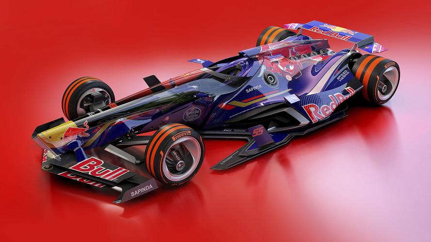 Galeria futurista: os carros da McLaren e Toro Rosso