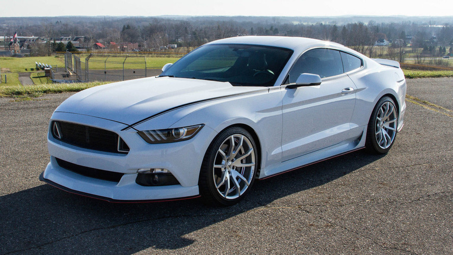 Ford Mustang Outlaw eBay find is a former SEMA show piece