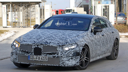 All-new Mercedes CLS spied hiding its sleek body