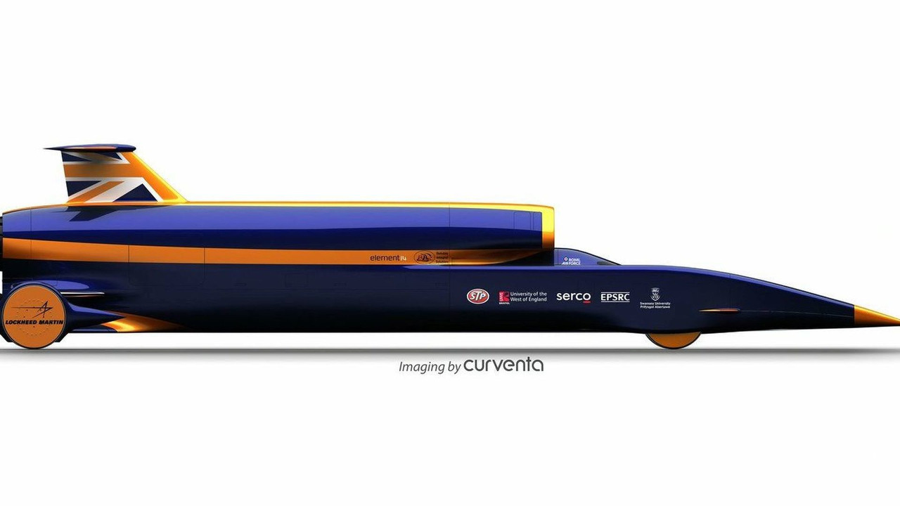 Bloodhound SSC illustration