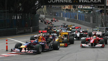 Start of the race, Sebastian Vettel (GER), Red Bull Racing, Monaco Grand Prix, 16.05.2010 Monaco, Monte Carlo