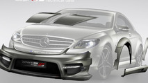 Mercedes-Benz CL 65 AMG wide body kit by Expression Motorsport 27.07.2010