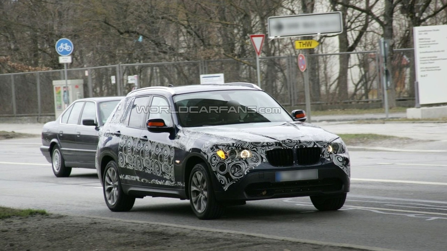BMW X1 Prototype Shows More Skin