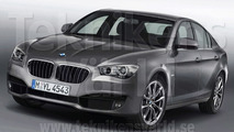 2012 BMW 3-Series GT artist rendering