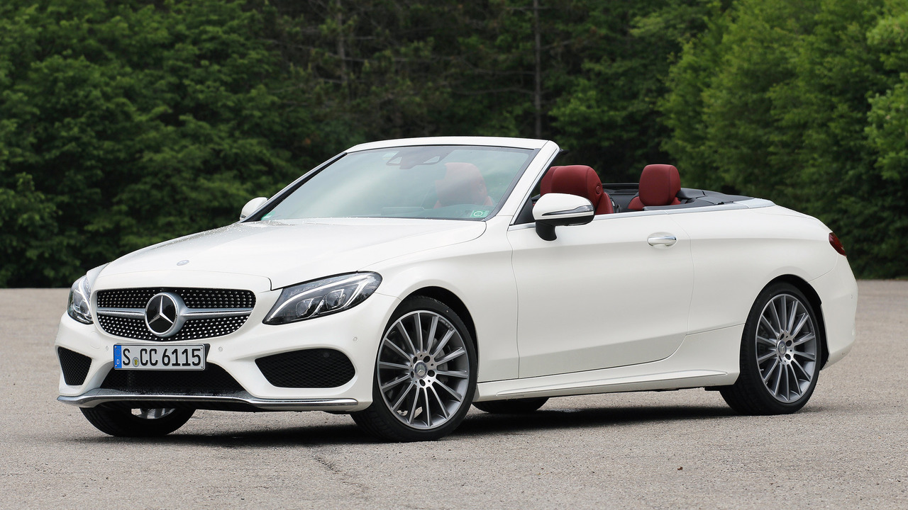 First drive 2017 mercedes benz c300 cabriolet for Convertible mercedes benz 2017