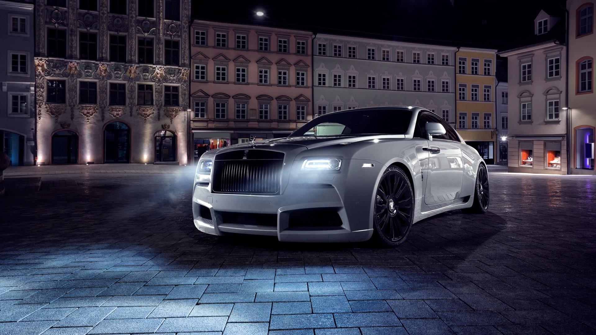 717-hp Rolls-Royce Wraith gets tuner wide body