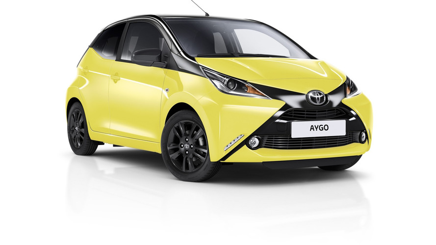 Toyota spices up Aygo x-cite with Yellow Fizz paint