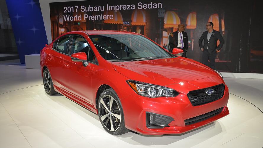 2017 Subaru Impreza Sport debuts in NYC