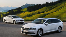 Skoda Superb GreenLine revealed with more than 1,780 km on a single tank