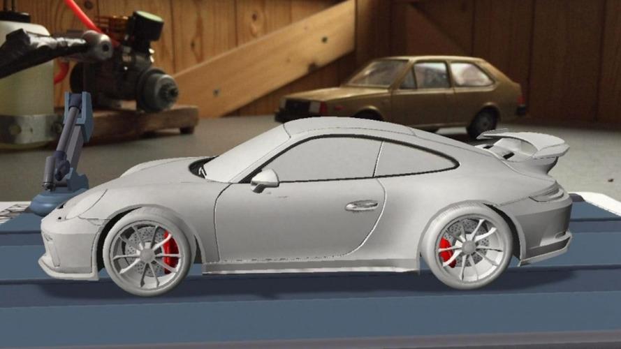 2017 Porsche 911 GT3 leaked?