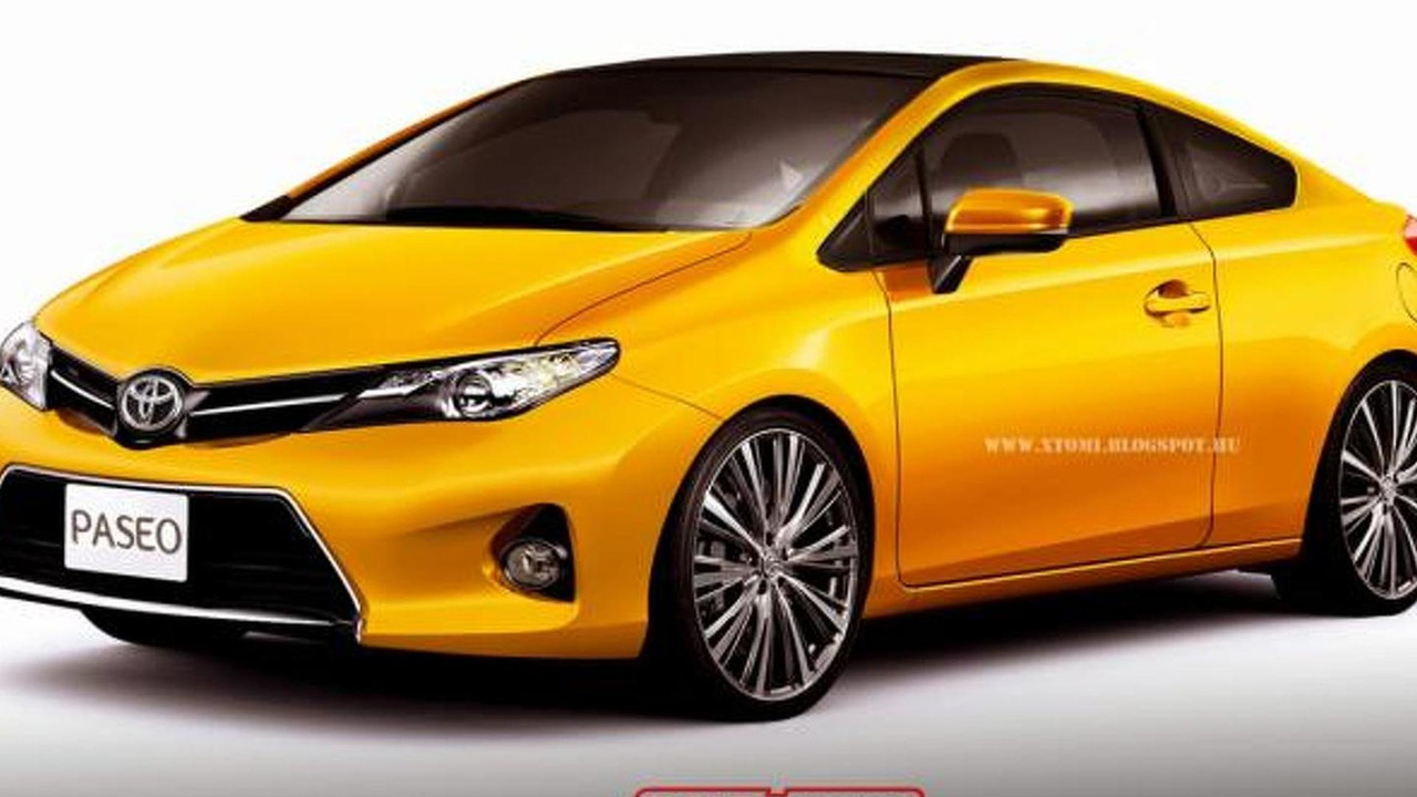 Toyota Paseo rendering / X-Tomi