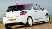 Citroen DS3 Pink special edition (UK-spec)