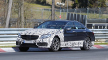 2015 Mercedes-Benz C63 AMG sedan spy photo
