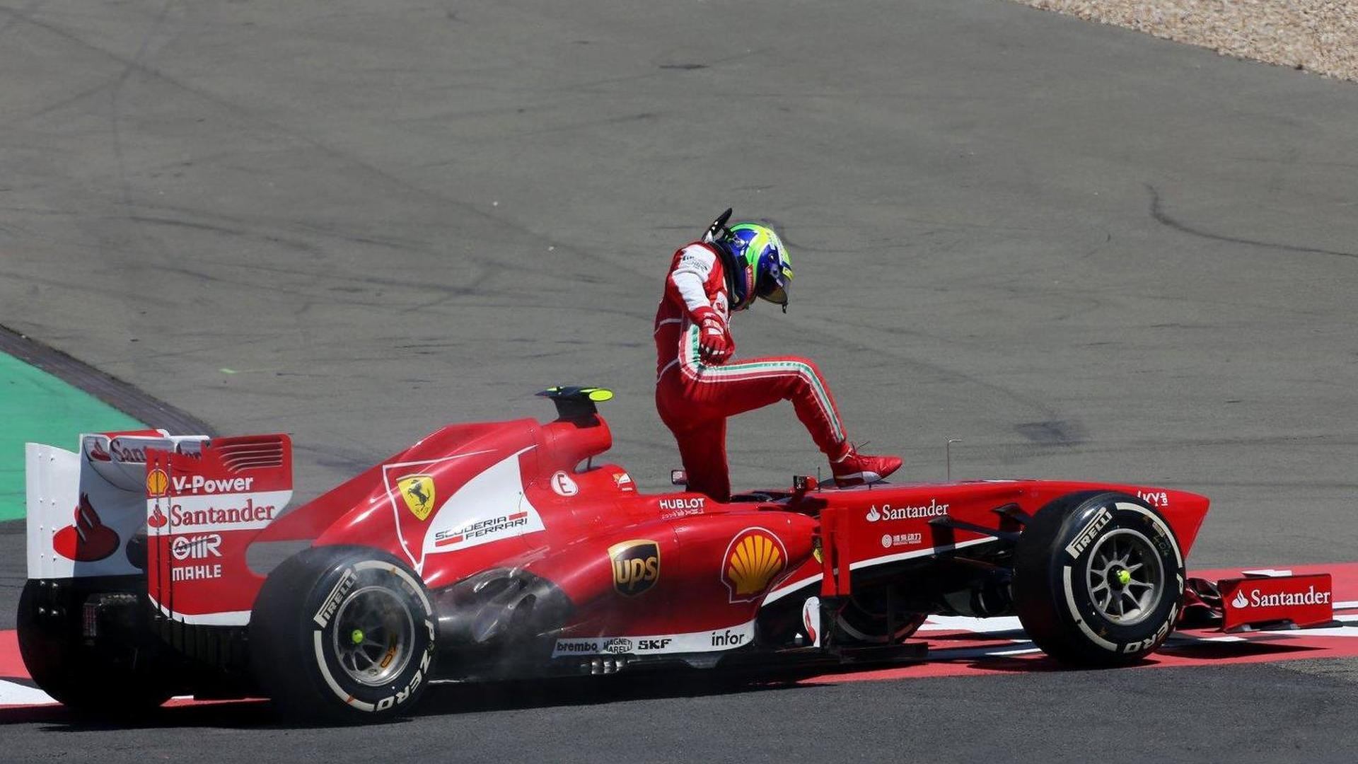'No idea' if incidents will cost Massa seat