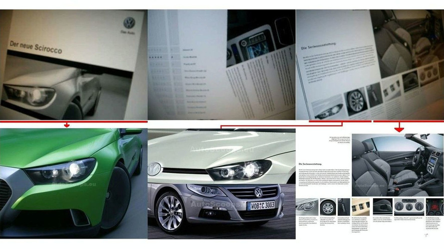 VW Scirocco Brochure is Fake
