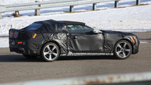 2016 Chevrolet Camaro Convertible spy photo