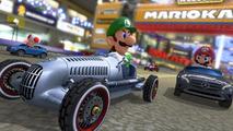 Mercedes cars on Mario Kart 8