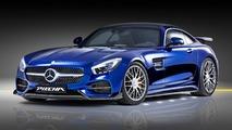 La Mercedes-AMG GT S passe entre les mains du préparateur Piecha