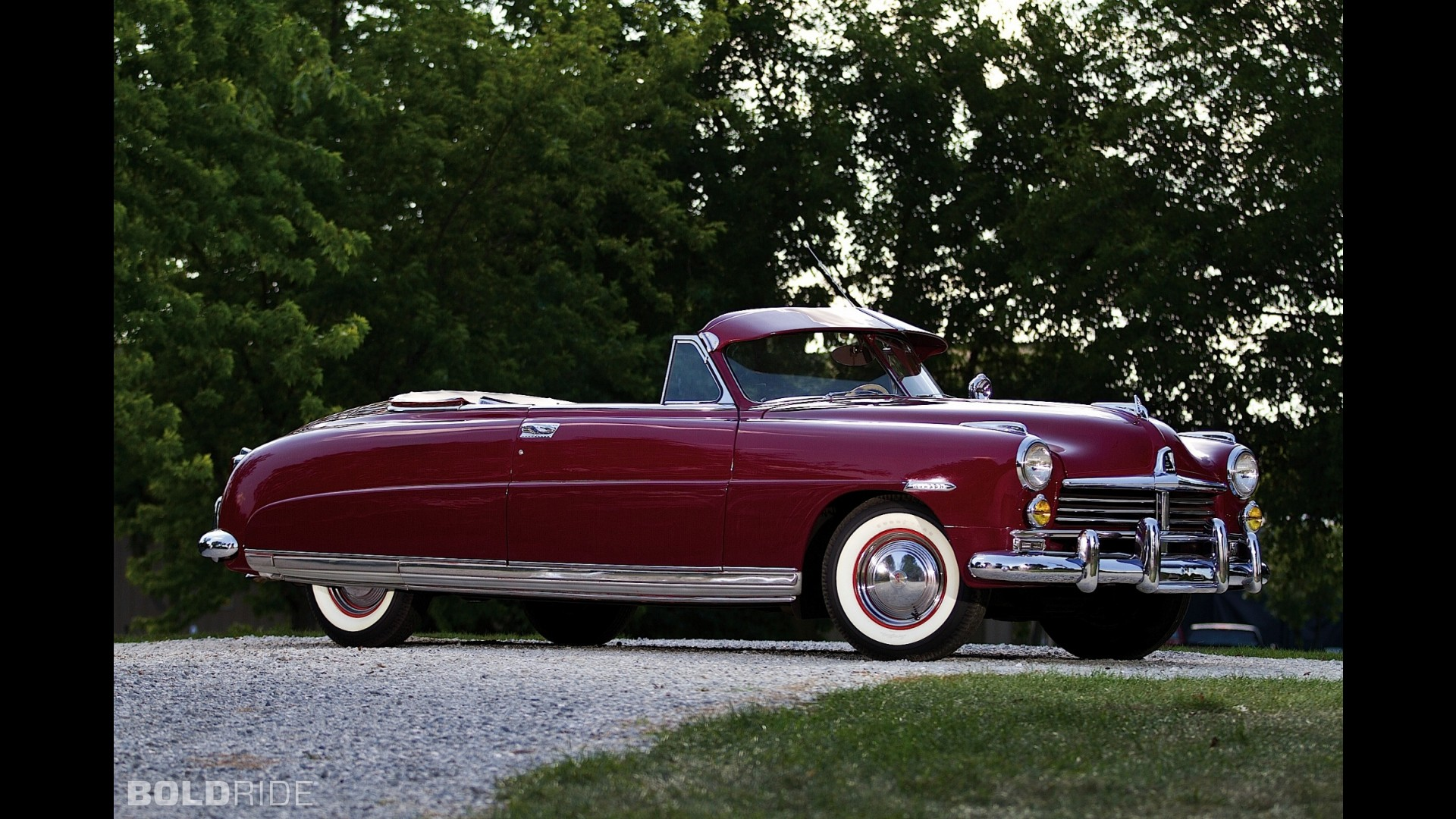Hudson Commodore Eight Custom Convertible Brougham