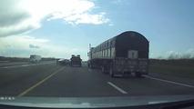 Dashcam video of left lane hogs highlights dangers