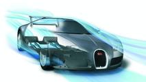 Bugatti Veyron Aerodynamics sketch