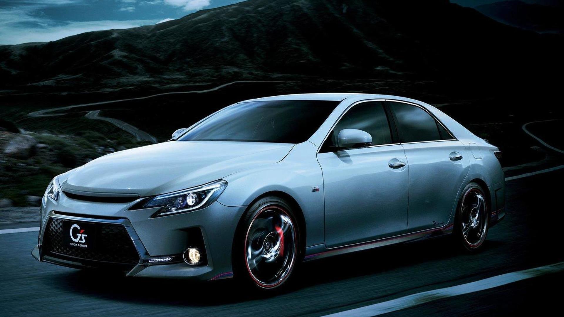 2013 Toyota Mark X facelift revealed for Japan