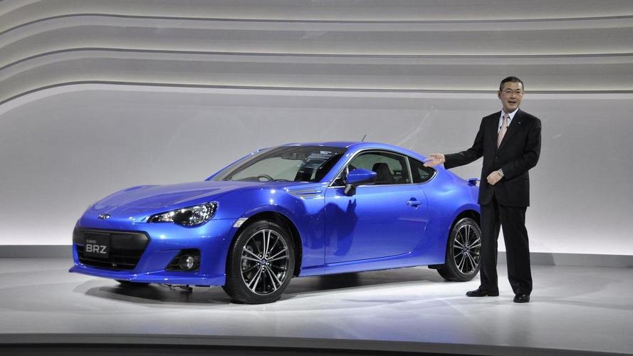 Subaru BRZ unveiled in Tokyo - new pics released