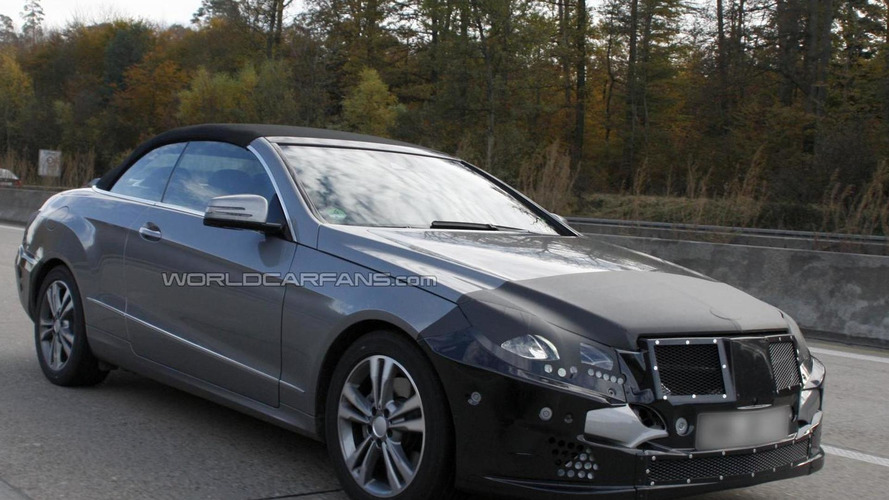 2014 Mercedes-Benz E-Class Cabrio facelift spied