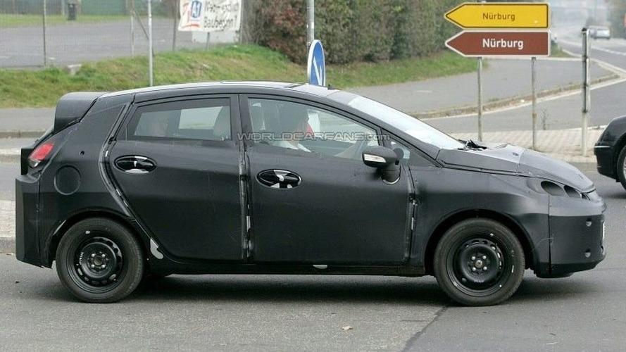 Spied Ford Fiesta True to Verve