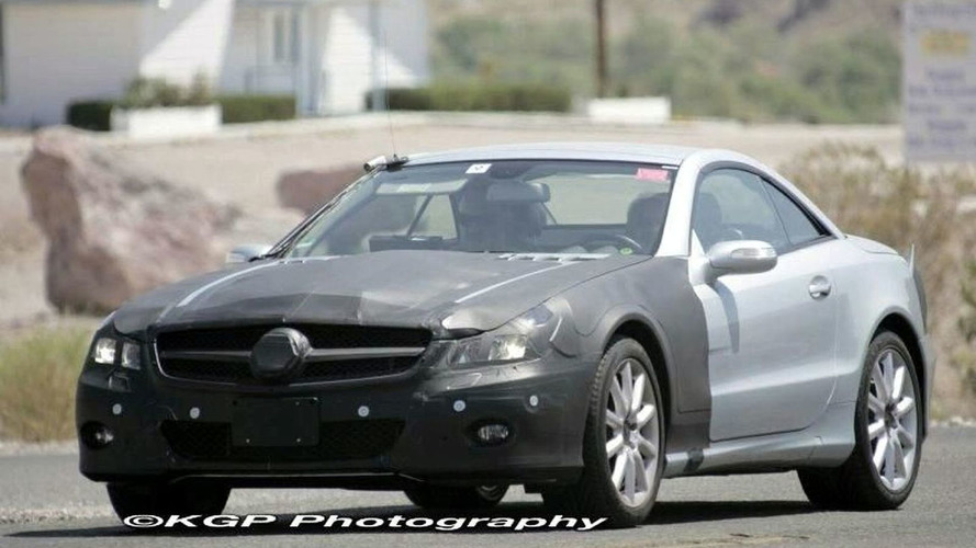 Mercedes SL Facelift Front Covering Now Removed