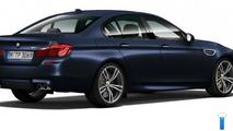 2014 BMW M5 facelift leaked