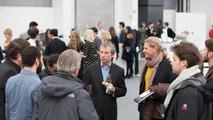 Klemens Rossnagel and Achim Badstübner talking to students at Audi Design UNIverse 26.11.2012