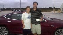David Metcalf and son