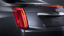 2014 Cadillac CTS partially revealed