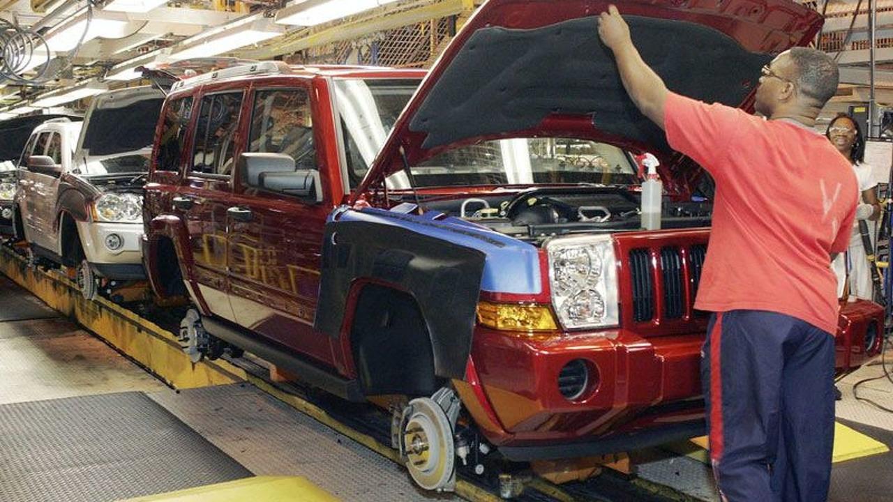 Jeep Commander Production Begins in Detroit