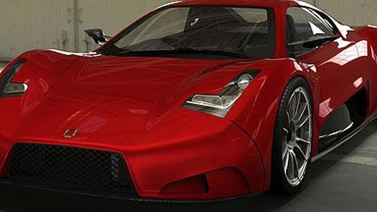 Joss supercar concept - 27.6.2011