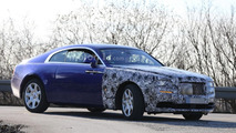 Rolls-Royce Wraith facelift prototypes caught out in the open