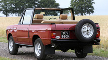 Fully restored Range Rover Convertible heading to the auction block
