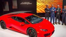 Lamborghini Huracan LP 580-2 at 2015 LA Auto Show