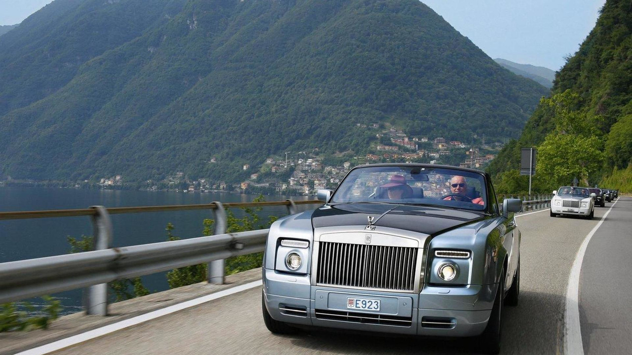 Rolls-Royce parade at Villa d'Este 25.05.2011