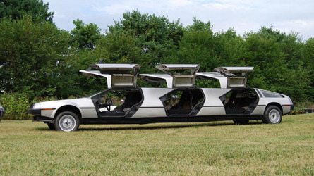 The most insane collection of custom DeLoreans you'll ever see