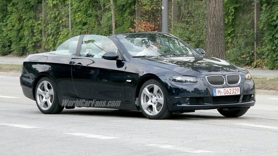 SPY PHOTOS: BMW 3-Series Coupe Cabrio