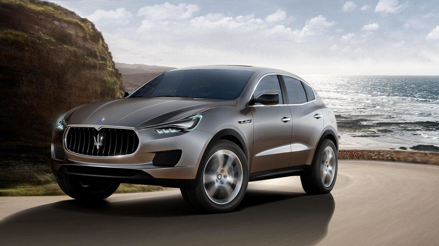 Maserati Levante to go into production late next year
