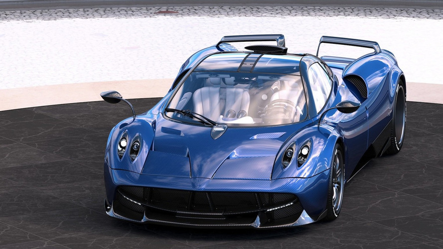 Pagani Huayra Pearl one-off has Zonda S-like split wing
