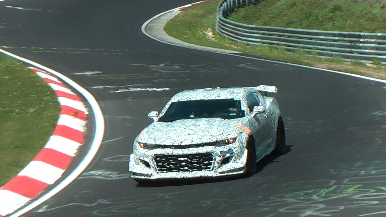 Chevrolet Camaro Z28 spy video