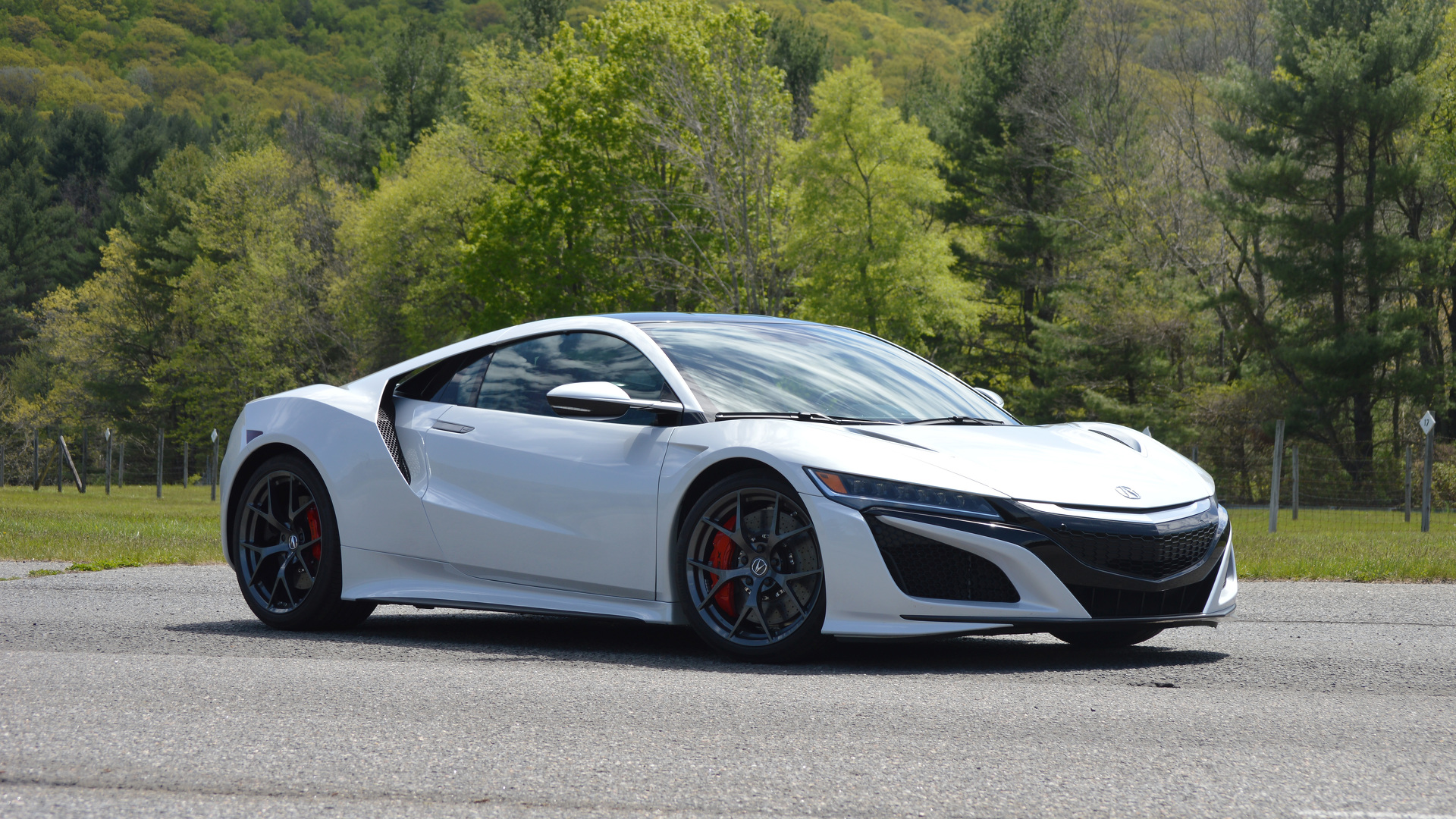 First Drive 2017 Acura NSX