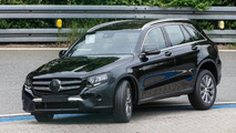 Mercedes-Benz GLC spotted with barely any camo on it