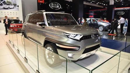 SsangYong XAV-Adventure concept previews production Korando in Frankfurt