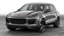 2015 Porsche Cayenne receives aero kit from TOPCAR